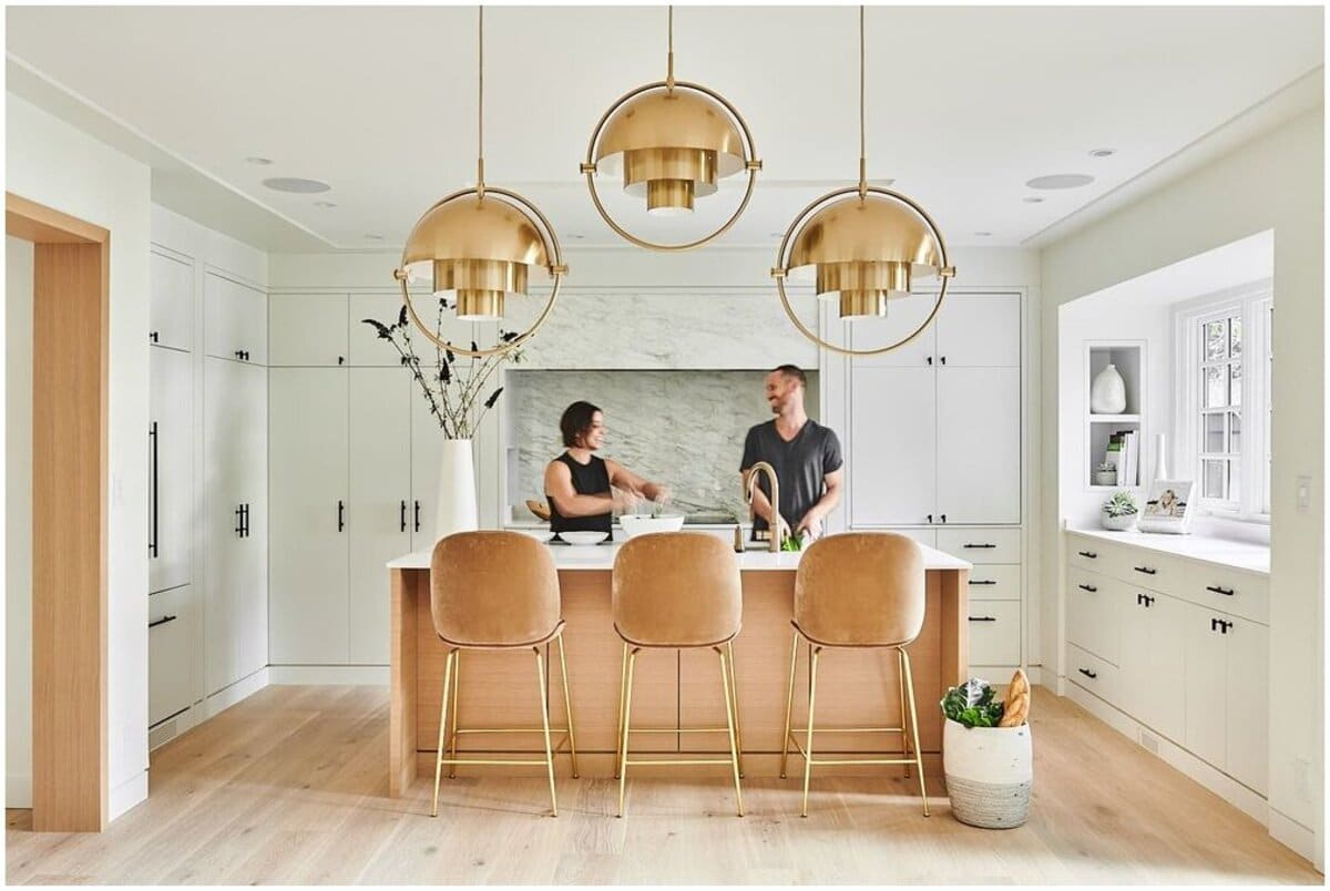 architecte d'intérieur pour une cuisine moderne