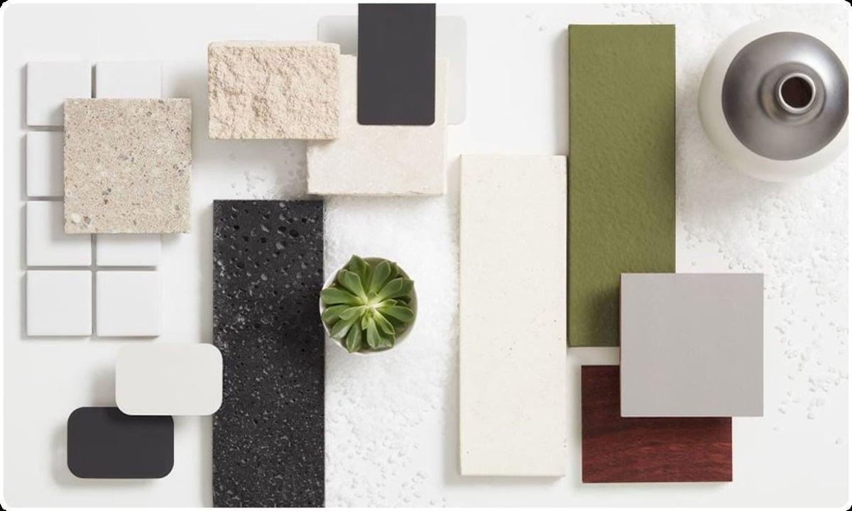 choix matériaux décoration maison