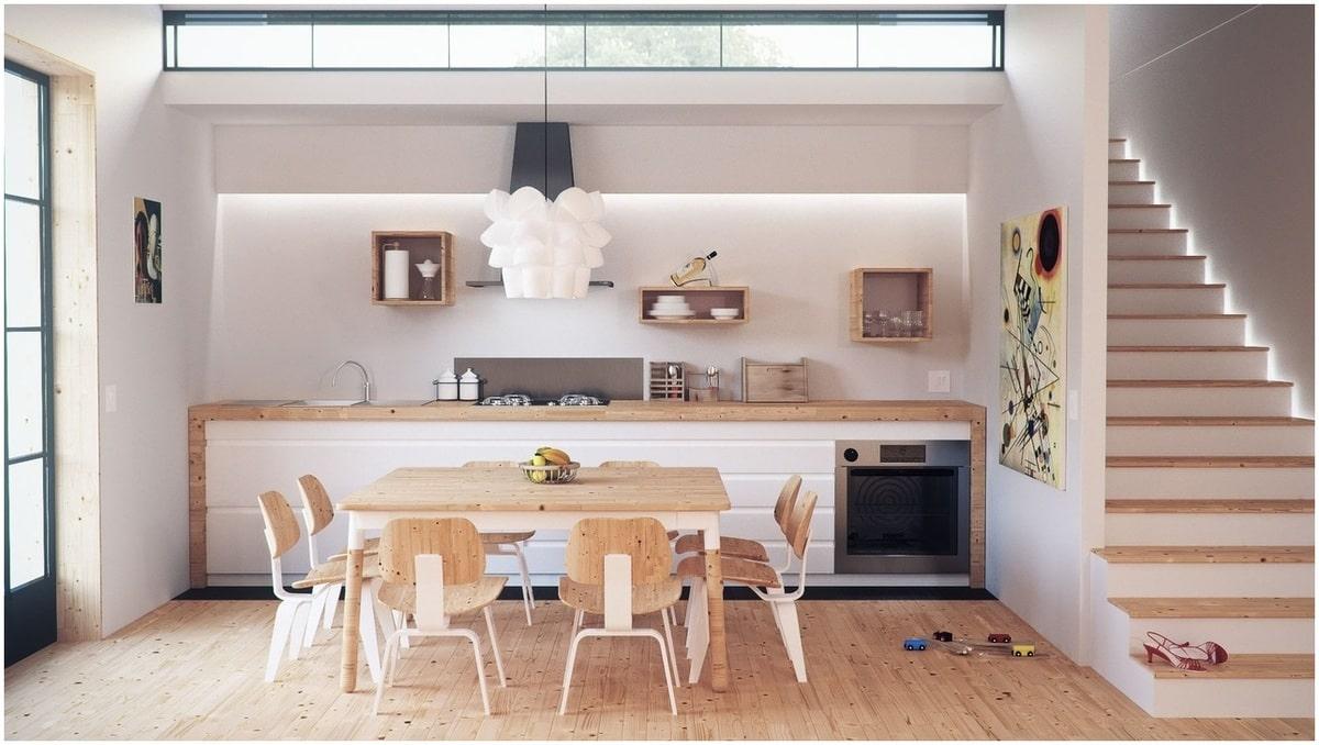décoration cuisine moderne maison