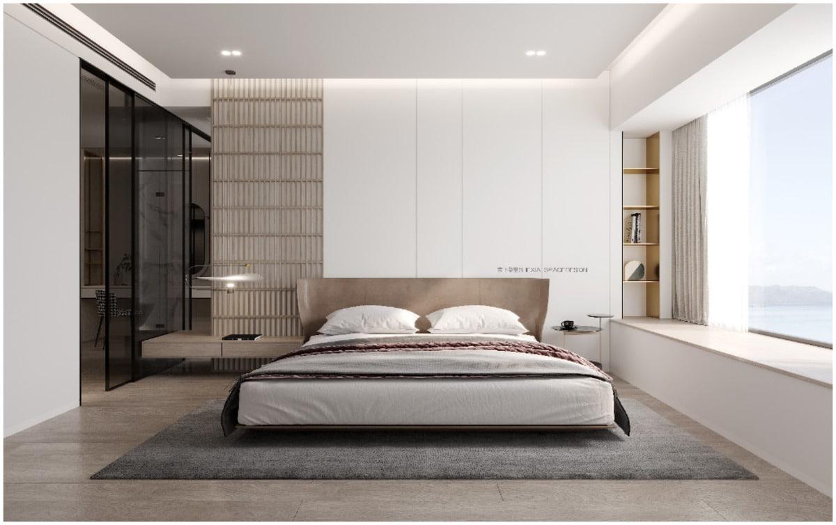 faux plafond chambre à coucher