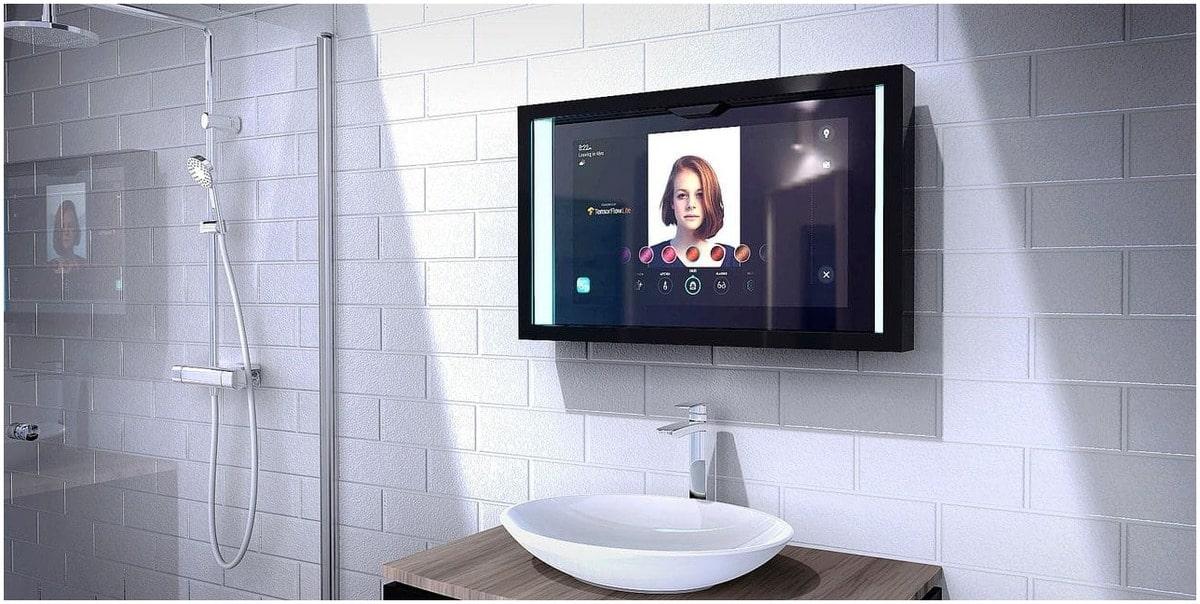 Salle de bain du futur