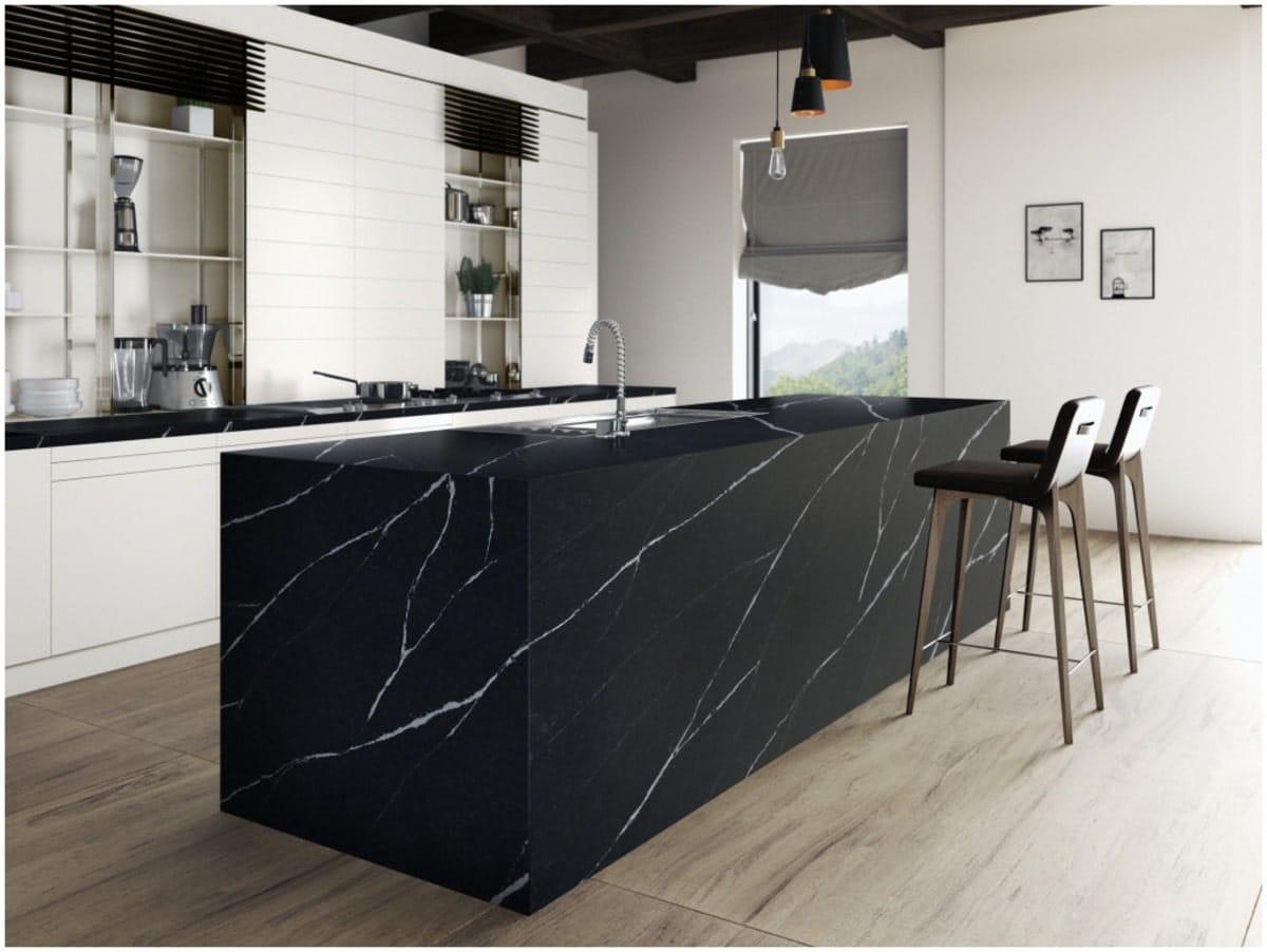 granit modulaire noir Tunisie